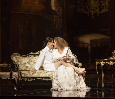 Kaune et Sindram dans le Chevalier à la Rose