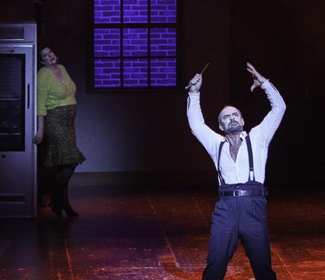 Jérôme Pradon et Alyssa Landry dans Sweeney Todd