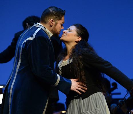 Edgardo Rocha et Cecilia Bartoli dans La Cenerentola par Claudia Blersch