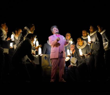 Marco Filippo Romano dans La Cenerentola par Sandrine Anglade