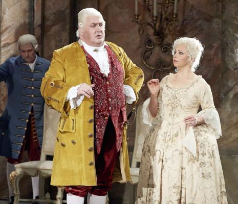 Daniela Fally et Peter Rose - Le Chevalier à la rose par Otto Schenk