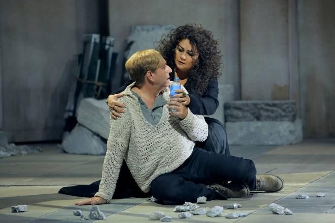 Andreas Schager et Elena Pankratova - Parsifal par Uwe-Eric Laufenberg à Bayreuth
