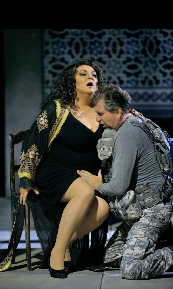 Elena Pankratova et Andreas Schager - Parsifal par Uwe-Eric Laufenberg à Bayreuth