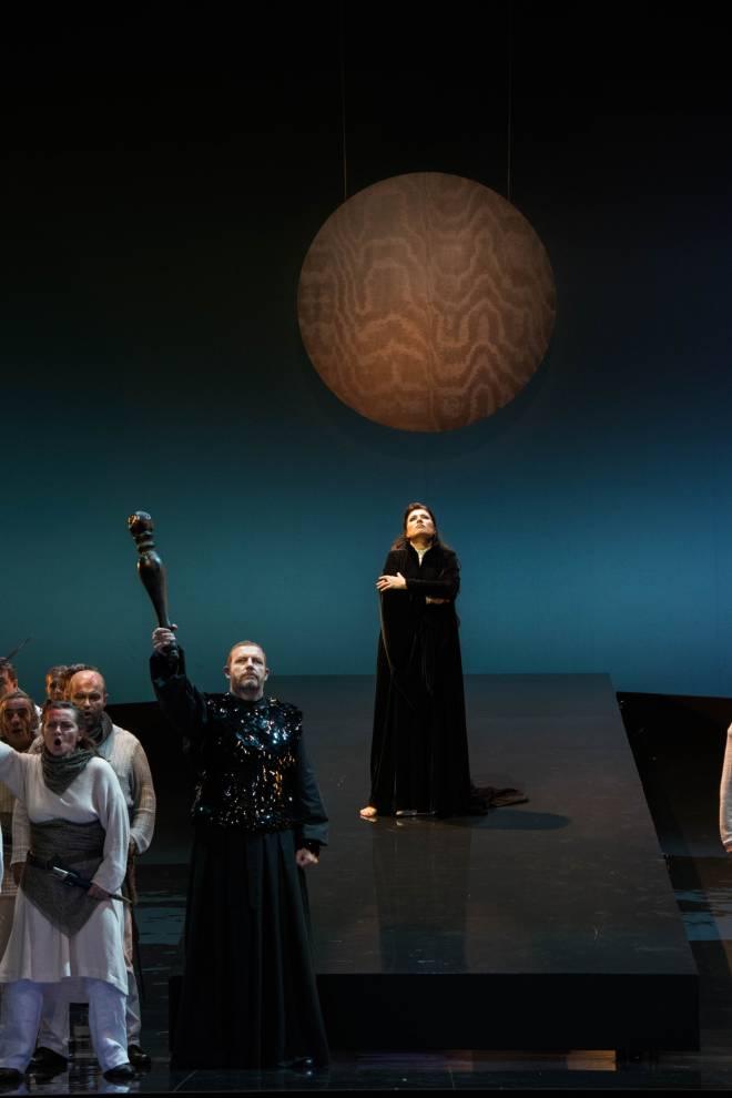 Balint Szabo & Marina Rebeka - Norma par Anne Delbée