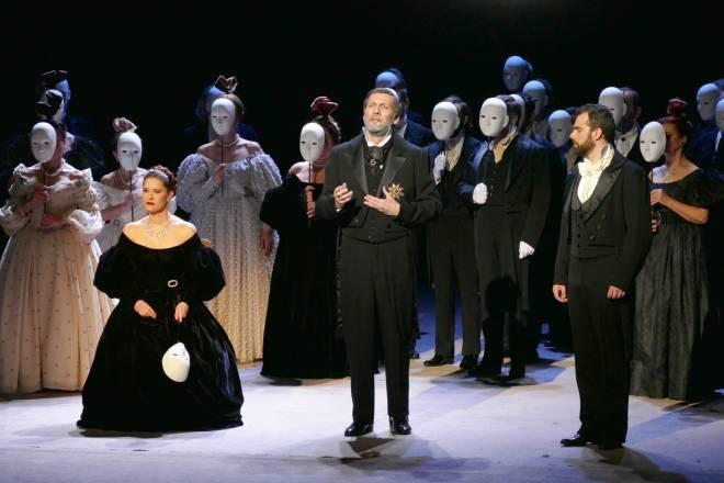 Marie‐Adeline Henry, Nicolas Courjal & Régis Mengus - Eugène Onéguine par Alain Garichot