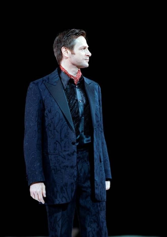 Simon Keenlyside dans Eugène Onéguine à l'Opéra d'Etat de Vienne