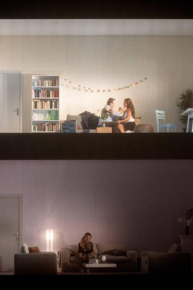 Benjamin Bernheim, Ermonela Jaho et Sylvie Brunet-Grupposo - Faust par Tobias Kratzer