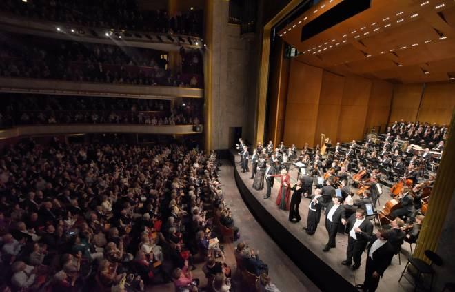 Concert d'Andrea Chenier au TCE