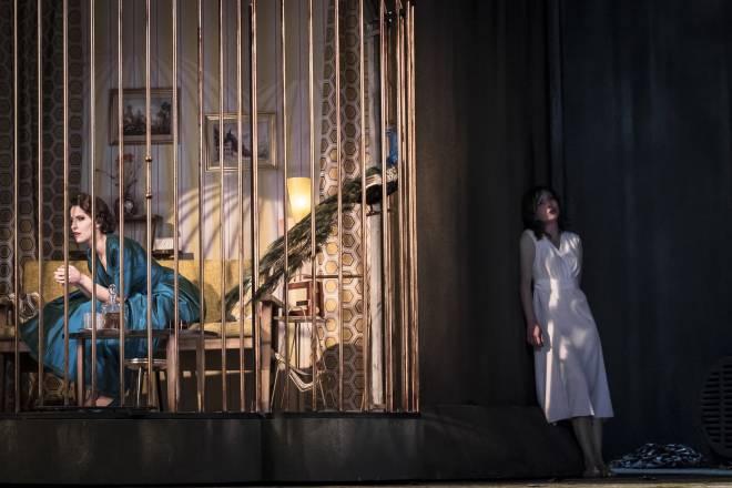Elena Tsallagova et Raffaella Milanesi dans La Calisto