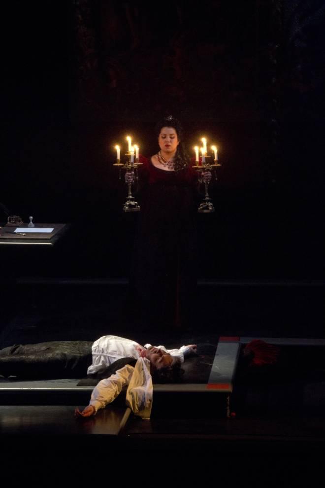 Valdis Jansons et Maria Katzarava - Tosca par Pier-Francesco Maestrini