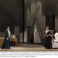 Ildebrando D'Arcangelo, Regula Mühlemann & Avery Amereau - Les Noces de Figaro par Tobias Richter