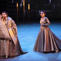 Béatrice Uria-Monzon et Nicolas Courjal dans Hérodiade