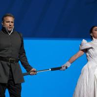 Ermonela Jaho et Nicolas Testé dans Les Huguenots