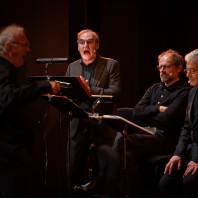 Michel Vuillermoz, Denis Podalydès & Didier Sandre