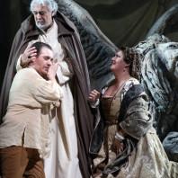 Francesco Meli, Placido Domingo & Anna Pirozzi - I due Foscari par Alvis Hermanis