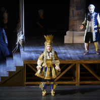 Fabrizio Beggi, Nahuel di Pierro et Matthew Grills dans Semiramide