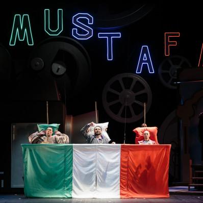 Rémi Ortega, Eugenio Di Lieto & Joseph Kauzman - L'Italienne à Alger par Pierre Thirion-Vallet