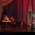 Rodrigo Porras Garulo et Ahlima Mhamdi dans Rigoletto