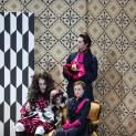 Michele Govi, Rocío Perez et Alex Martini (debout) - Don Pasquale par Pierre-Emmanuel Rousseau