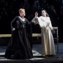 Petra Lang (Ortrud) et Barbara Haveman (Elsa) - Lohengrin par Louis Désiré