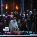 Vitaliy Bilyy (Macbeth), Béatrice Uria-Monzon (Lady Macbeth), Otar Jorjikia (Macduff), Boris Stepanov (Malcolm) - Macbeth par Jean-Louis Martinoty