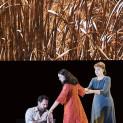 Ildar Abdrazakov (Boris Godounov), Ruzan Mantashyan (Xenia) et Alexandra Durseneva (La nourrice) - Boris Godounov par Ivo van Hove