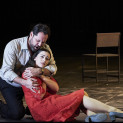 Ildar Abdrazakov (Boris Godounov) et Ruzan Mantashyan (Xenia) - Boris Godounov par Ivo van Hove