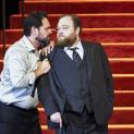 Ildar Abdrazakov (Boris Godounov) et Maxim Paster (Le Prince Chouiski) - Boris Godounov par Ivo van Hove