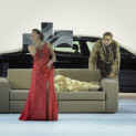 Michele Pertusi (Don Pasquale) et Nadine Sierra (Norina) - Don Pasquale par Damiano Michieletto