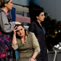 Loriana Castellano (Mahtab), Sofia Pavone (Arielle) et Grazia Doronzio (Lorraine) - 7 Minuti