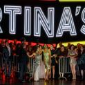 Thomas Dear (Dottore Grenvil), Christian Helmer (Il Barone Douphol), Marc Labonnette (Il Marchese d'Obigny), Catherine Trottmann (Flora Bervoix), Pretty Yende (Violetta Valéry) et Marion Lebègue (Annina) - La Traviata par Simon Stone