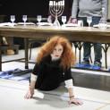 Patricia Petibon en répétition pour Salomé