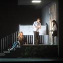 Christian Van Horn (Méphistophélès), Sylvie Brunet-Grupposo (Dame Marthe), Benjamin Bernheim (Faust) et Ermonela Jaho (Marguerite) - Faust par Tobias Kratzer
