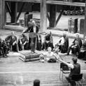 Bo Skovhus en répétition des Maîtres Chanteurs de Nüremberg