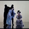 Qiuling Zhang et Amanda Echalaz dans Madame Butterfly