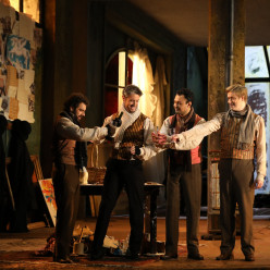 La Bohème par Paul-Émile Fourny - Régis Mengus, Mikhael Piccone, Diego Silva et Tapani Plathan