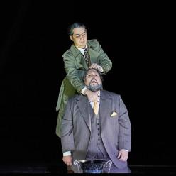 Mikhail Timoshenko & Nicola Alaimo - Simon Boccanegra par Calixto Bieito