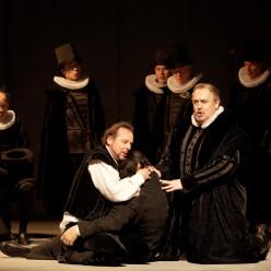 Franco Farina & Giacomo Prestia - Don Carlos par Peter Konwitschny