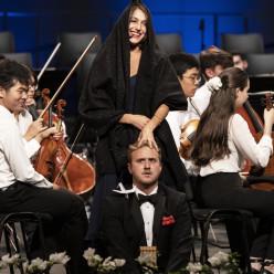 Clara Barbier Serrano et Julien Van Mellaerts - La Flûte enchantée à Verbier