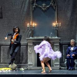 Joel Prieto (Orphée), Kathryn Lewek (Eurydice), Max Hopp (John Styx) - Orphée aux Enfers par Barrie Kosky