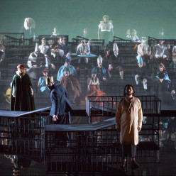 Leonardo Capalbo, Annelies Van Gramberen, Andreas Bauer Kanabas & Kartal Karagedik - Don Carlos par Johan Simons