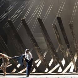Andrew Watts et Lauri Vasar - Lear par Calixto Bieito