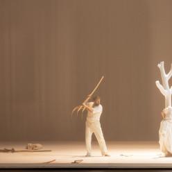 David Steffens & Anna Lucia Richter - Don Giovanni par Romeo Castellucci