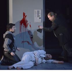 Chest, Drole et Greenan dans Don Giovanni