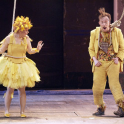 Georg Nigl et Daniela Fally dans la Flûte enchantée