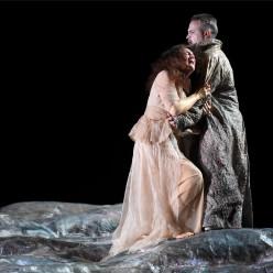 Nora Gubisch (Amneris), Gaston Rivero (Radamès) - Aida par Stathis Livathinos