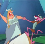 La Panthère rose, opéra-cartoon