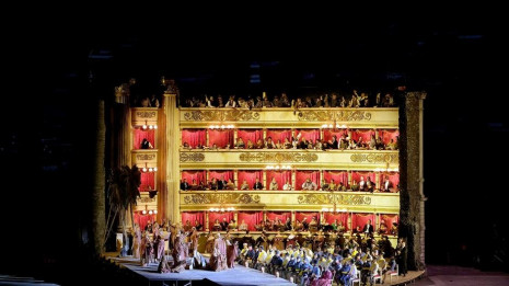 Nabucco de Verdi depuis les Arènes de Vérone