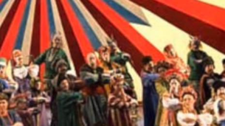 Scène des Tcherevitchki dans Vakoura le forgeron (ou Les souliers de la reine)