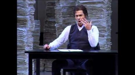 Lucio Gallo dans Andrea Chenier à l'Opéra de Zurich